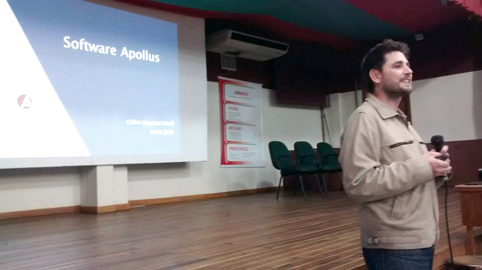 Apollus presente na 2ª reunião do GT-HO RS de 2016