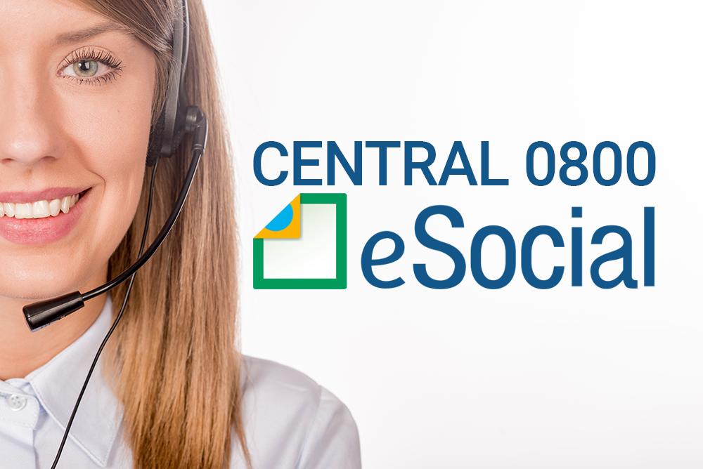 eSocial agora conta com uma central 0800